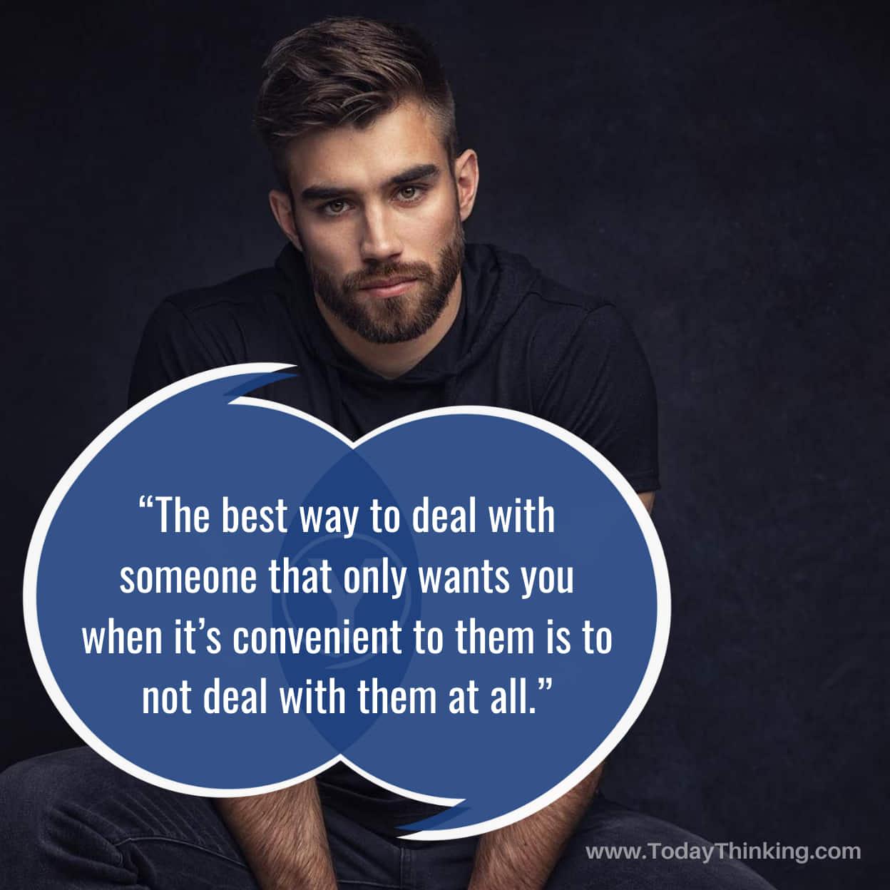 Sayings For Selfish People