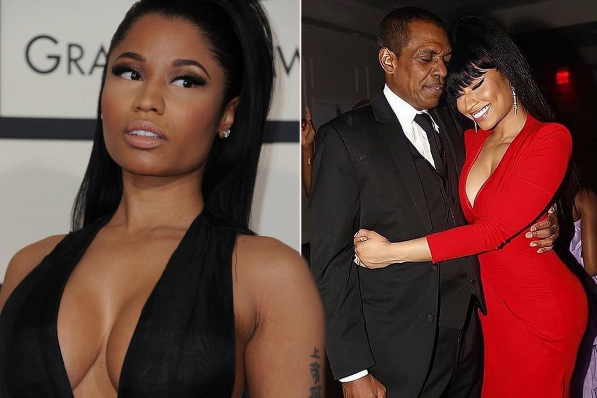 Nicki Minaj Father : Robert Maraj